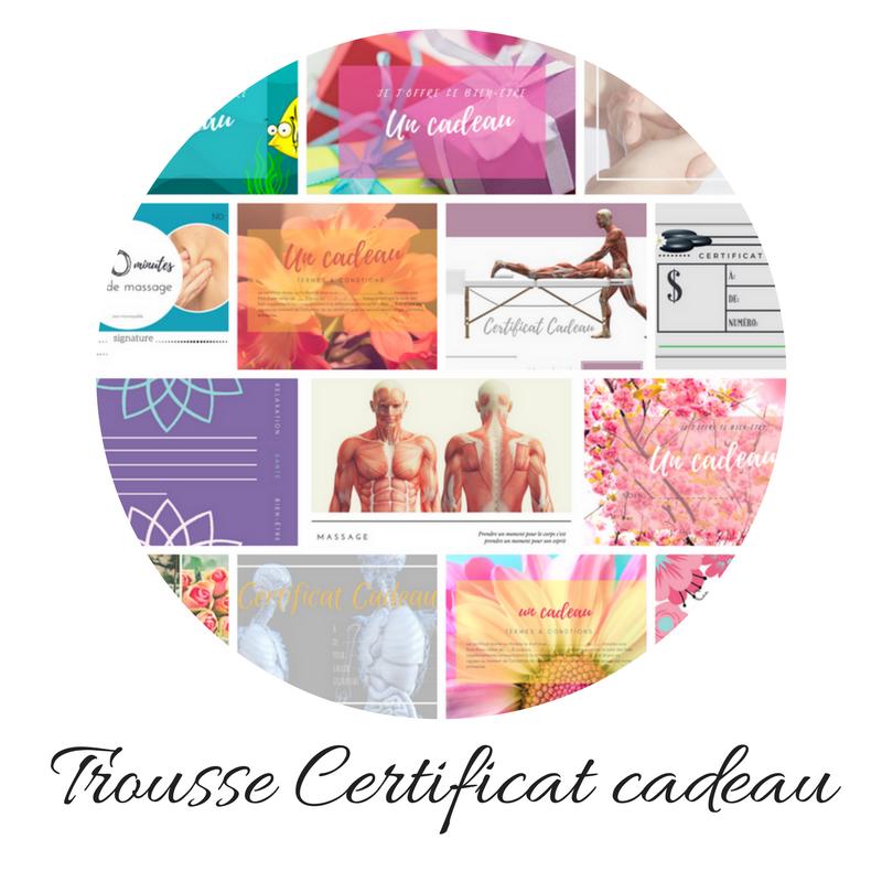 La Trousse Certificat cadeau