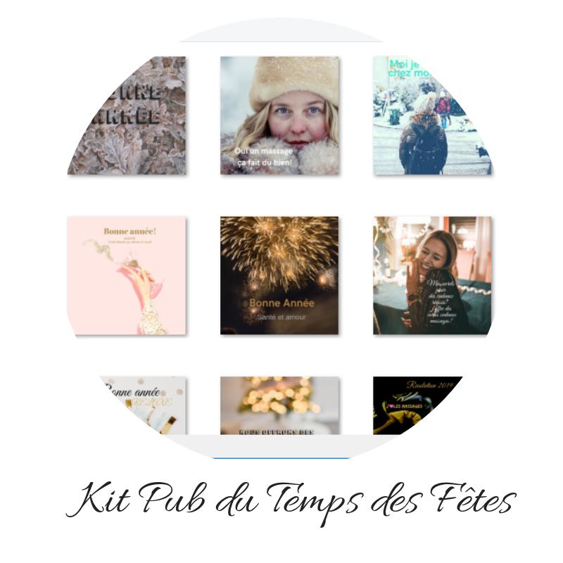 Le Kit PUB DU TEMPS DES FÊTES