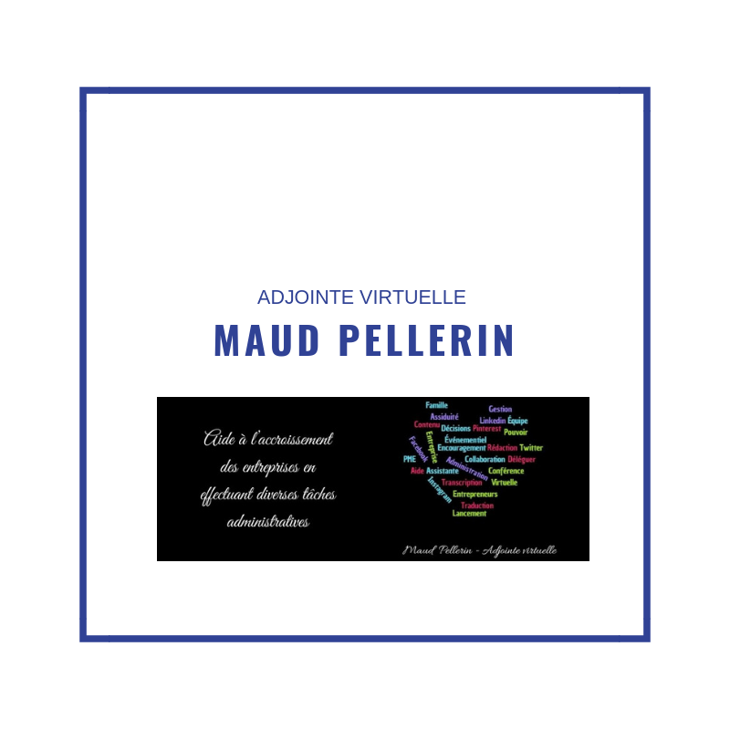 Maud Pellerin adjointe virtuelle ETI