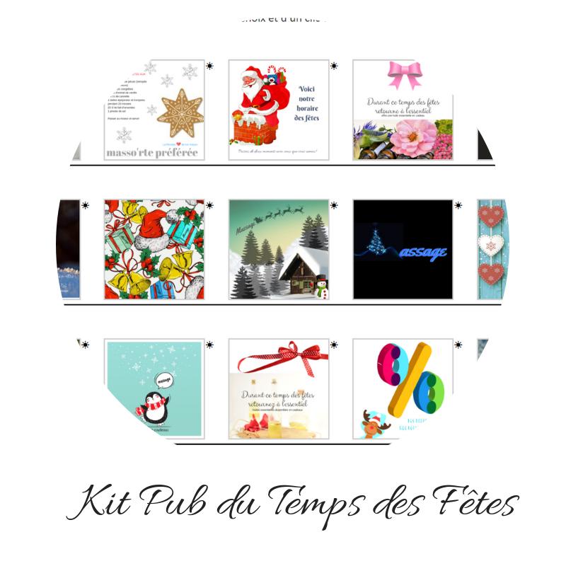Le kit Des Fêtes
