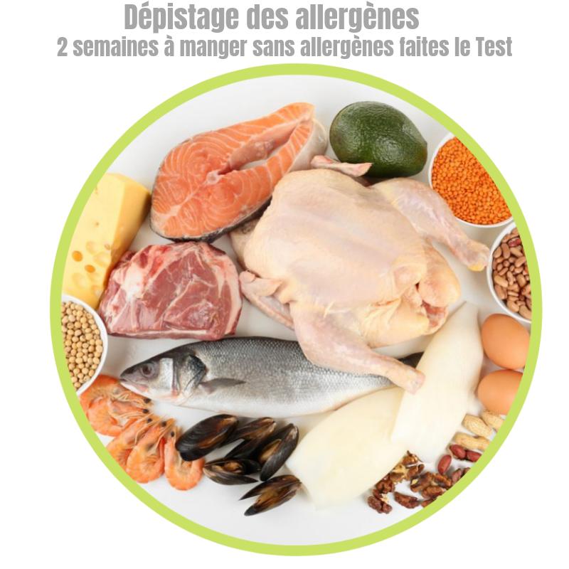 Le test de dépistage des allergenes