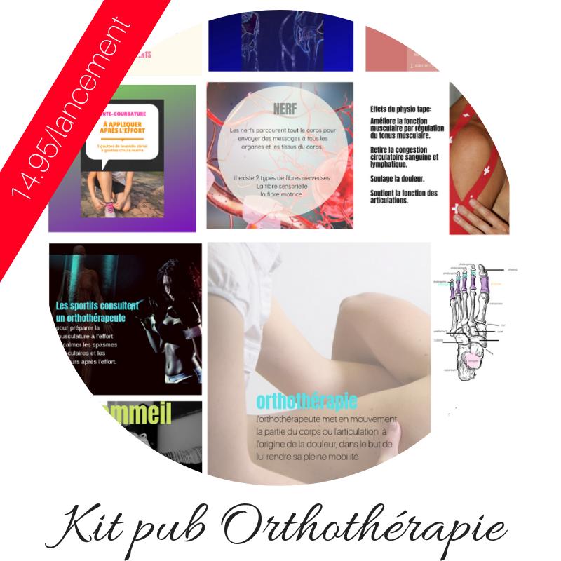 Kit pub Orthothérapie