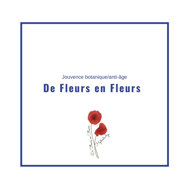 de fleurs en fleurs.