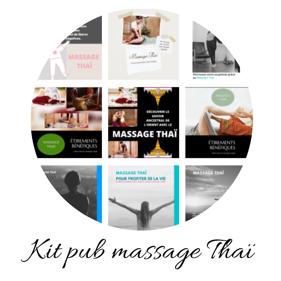 Kit massage Thai